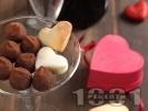 Рецепта Лесни домашни бонбони от бисквити, масло и какао